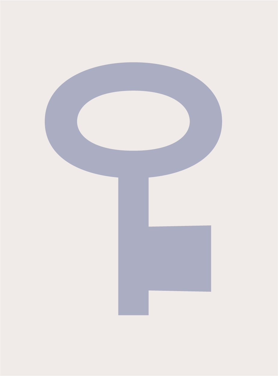 Decimal key icon